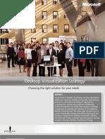 Microsoft Client Virtualization Strategy