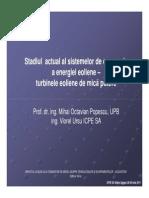S3 5 Stadiul Actual Al Sistemelor de Conversie a Energiei Eoliene