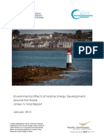 Environmental Effects of Marine Energy Development Annex_iv_report