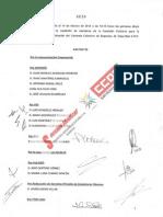 Acta Comisión Paritaria Convenio Seguridad