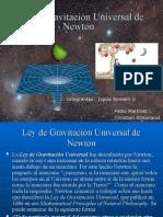 14035000 Ley de Gravitacion Universal de Newton