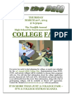 College Fair Flyer 1 2014