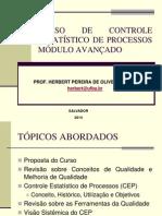 CURSO CEP AVANÇADO Prof. Herbert APRESENTAÇÃO