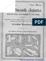 Woodwork Joints 1917