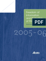 FOIP Annual Report 2005-06