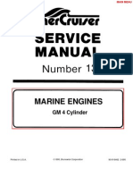 Mercruiser Manual GM 4 Cylinder