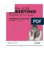 Informe de Gestion 2009 - 2013