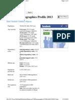 Malaysia Demographics Profile 2013