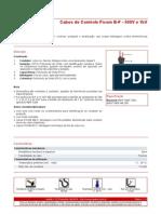 Cabos de Controle Ficom B-F - 500V e 1kV
