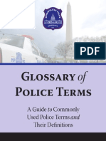 Glossary of Police Terms 2013