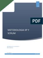 METODOLOGÍA XP Y SCRUM