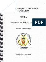 Capitulo I Procesos de Manufactura ESPE