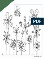 Flors.primavera.b&n.imprimipble