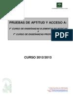 Calendario Pruebas de Acceso 2012 Def (2)