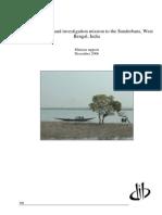 Sunderban Mission Report DIB 0507 Small