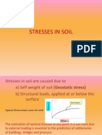 Stresses in Soil