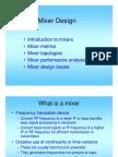 Mixer Design