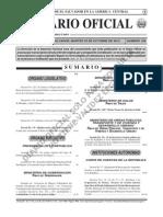 Prepago Diario Oficial 23-10-2012