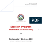 FJPprogram Parliamentary Elections 2011