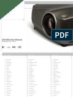 Christie Dsp 650 User Manual