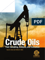 Crude Oils Their Sampling, Analysis