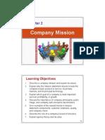 Chap002 Company Mission