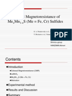 colossal magnetoresistance