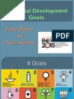 final millennial development goals