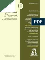 Justicia Electoral 10