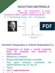 Superconducting Materials