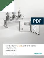 Siemens Catálogo Reconectador 3AD 2008