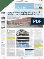 Bienes Improductivos en El Valle, Un Verdadero Dilema