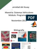 Maestria Sistemas Vehiculares Sesion 7