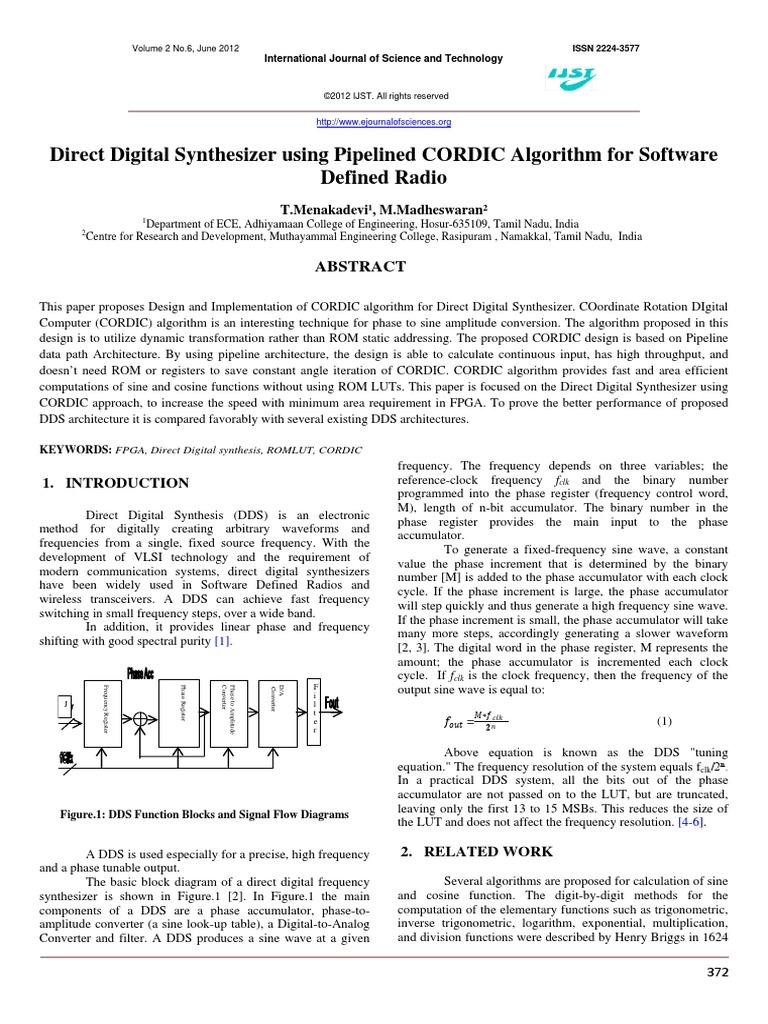 vol2no6_5 | Trigonometric Functions | Computer Engineering