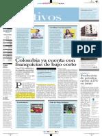 Colombia Ya Cuenta Con Franquicias de Bajo Costo