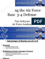 Air Force Academy Installing the Base 3-4