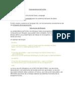 Características de PL SQL doc 1