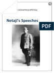 Netaji Speeches