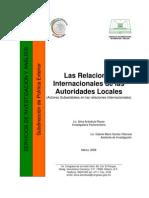 Relaciones Internacionales Autoridades Locales