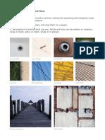 Observing Point, Line and Plane Design Problem 1 1. Explore