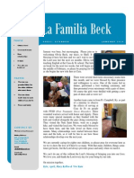 Beck Newsletter 2 2014