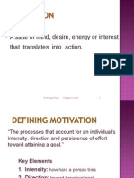 Motivation Effctiveness