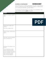 Assignment 4 Worksheet
