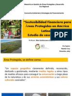 Sostenibilidad Financiera de Areas Protegidas Honduras
