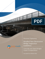 Detailed Non-Destructive Investigation Guidelines for Concrete and Steel Bridges Rev 0