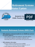 KRS Overview- Public Pension Oversight Board (January 27 2014) 2