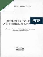 Ahrweiler-Ideologia Politica a Imperiului Bizantin-Cap 1-2
