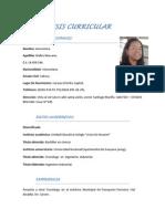 (SÍNTESIS CURRICULAR) ana pdf