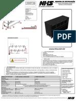761113 - Manual Tecnico Modulo Rack Fechado Modular 8 Bat 96V - R01