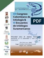 Memorias XII Congreso Colombiano de Ictiología - 2013